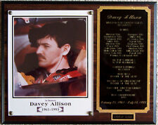 PLAQUE ~ DAVEY ALLISON ~ 1961-1993 ~ NASCAR