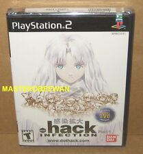 PS2 .hack//INFECTION Part 1 New Sealed (Sony PlayStation 2, 2003)