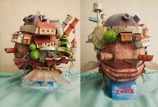 Hayao Miyazaki Howl's Moving Castle Paper Model Kit Flying Version Instock