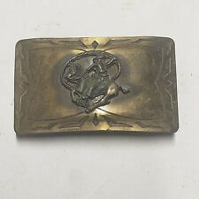 Rodeo Roping Belt Buckle Western Americana