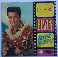 ELVIS PRESLEY-ORIGINAL EP FROM GERMANY FOR BLUE HAWAII