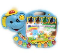 Vtech Touch and Teach Elephant  Learning Educational Toy Numbers Alphabet Songs