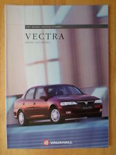 VAUXHALL VECTRA Range 1996 1997 UK Mkt Prestige Sales Brochure -  Envoy SRi CDX