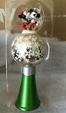 "Disney Store Christmas 2011 ""SHARE THE MAGIC"" MICKEY & MINNIE MOUSE Tree Topper"