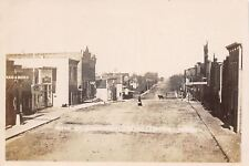 Radcliffe IA~Main Street North~Rugs Books~Lunch Room~Ice Cream Parlor~c1912 RPPC
