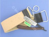 Rasiermesser-Set mit Streichriemen + Paste Solingen