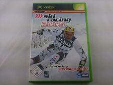 Ski Racing 2005 Microsoft Xbox Classic 2004 DVD Box PAL Spiel Game