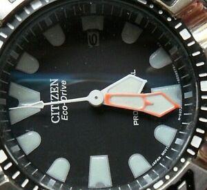 48.4 mm S/S Men's Citizen Eco-Drive 300M Professional Diver's Watch w/ Box B873
