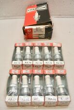 UJ7G Champion Spark Plug Vintage GOLD PALLADIUM - BOX of 10 plugs