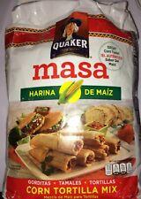 Instant Corn Flour Quaker Masa Harina De Maiz 4.6 LBS