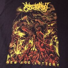 New Age Lottery Thrash Heavy Metal Graphic Scenes of Hell Devil TShirt