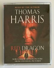 Red Dragon By Thomas Harris (Audio Cassette, 1997) Read By The Author