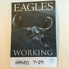Eagles Tour Backstage Pass Local Crew Don Henley