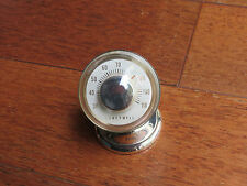 Vintage Tiffany & Co and Honeywell Sterling Silver Desk Thermometer