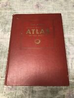 Vintage 1939 Rand McNally Ready Reference Atlas of the WORLD Color Maps History