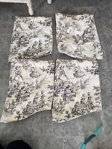 Country Curtains Toile Lined Valance French Country Pastoral 51x17 I have 4