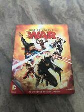 Justice League: War Steelbook Dc Animated Movie Blu Ray/Dvd - Oop