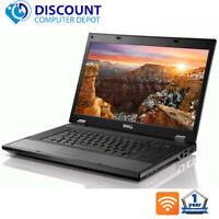 """Dell Laptop Latitude E5510 15.6"""" Computer Core i5 4GB 320GB Wifi Windows 10 PC"""