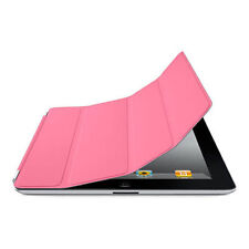 Original Apple Ipad 2,3&4 Smart Cover Case MD308ZM/A Polyurethan Pink New Sealed