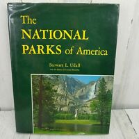 The National Parks Of America Hardcover Book Stewart L Udall 1966 1st Edition DJ