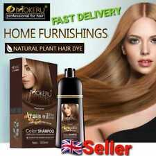 Mokeru Natural Dye Argan Oil Essence Fast Hair Color Shampoo For Women 500ml