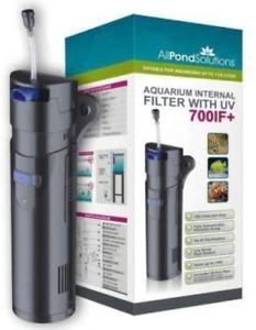 All Pond Solutions Aquarium Fish Tank Internal Filter - 9w UV Steriliser - All