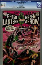 GREEN LANTERN #77 - CGC 6.5  -  NEAL ADAMS DC  ART- AMERICA WAR ZONE!!
