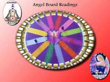 Angel Guidance Board Reading For 4 Questions, Bid if for Angel Card and Cross