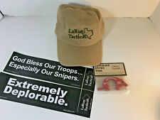 LARUE TACTICAL CAP, 2017 MERRY CHRISTMAS BEVERAGE ENTRY TOOL & BUMPER STICKERS