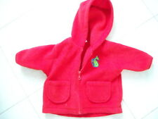 RED FLEECE JACKET AGE UP TO 3 MONTH HT 56-62CM, FROM BOOTS