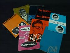 8 1960s Concert Programmes The Beatles Roy Orbison Frank Sinatra Sammy Davis Jr