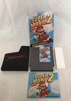 Super Mario Bros. 2 Nintendo Nes Complete CIB Authentic