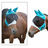 Professional's Choice Comfort Fit Horse & Arab Sizes Lycra Fly Mask w/ Ears