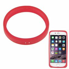 Universal Fluorescent Protective Silicone Bracelet Phone Cover Bumper Ring Case