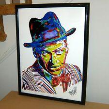 Frank Sinatra: American Singer Film Actor: Rat Pack: Swing Big Band POSTER w/COA