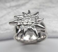 Trachten Ring Edelweiß  Silber 925 zum Dirndl oder Lederhose