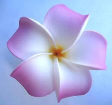 Hawaiian Hawaii Flower Bridal Wedding Party Favor Plumeria QTY ( 2 ) Hair Clips