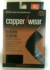 Nib Copper / Wear Black sz Xlarge Xl Compression Elbow Sleeve Unisex