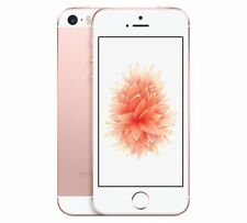 "Apple iPhone SE (A1723) iOS 4G 16GB Sim-Free 4"" Smartphone in Rose Gold (275623)"