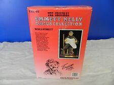 """The Original Emmett Kelly Circus Collection- """"Wallstreet"""" Ekc-02- original pkg"""