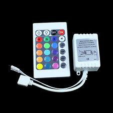 12V 24 Key Wireless Led IR Remote Controller for 3528 5050 RGB LED Strip Light