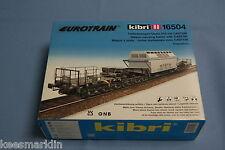 KIBRI 16504 Heavy Duty Rail deepload carUaais 819 with castor    Un-build KIT HO