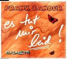 Frank Zander Es tut mir leid! (1999) [Maxi-CD]
