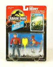 Jurassic Park Series II Dennis Nedry  With Tranq-Spray Gun MOC Kenner new
