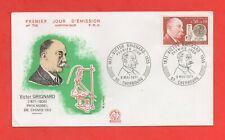 FDC 1971 - Victor Grignard, Prix Nobel Di Chimica 1912 - 1871-1935 (1434)