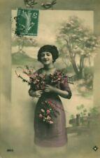 Carte postale fantaisie ancienne 1900