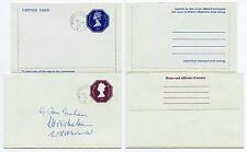 GB móvil matasellos de la oficina de correos 1978 de Julio de 16 + 22 en papelería Env + AEROGRAMA