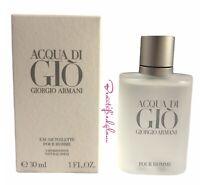 ACQUA DI GIO by GIORGIO ARMANI for MEN EDT 1 oz / 30 mL,NEW in BOX