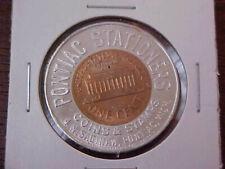 1960-D Encased Cent -- Pontiac Stationers Coins & Stamps -- Pontiac, Michigan