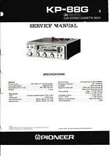 Service Manual-Anleitung für Pioneer KP-88 G